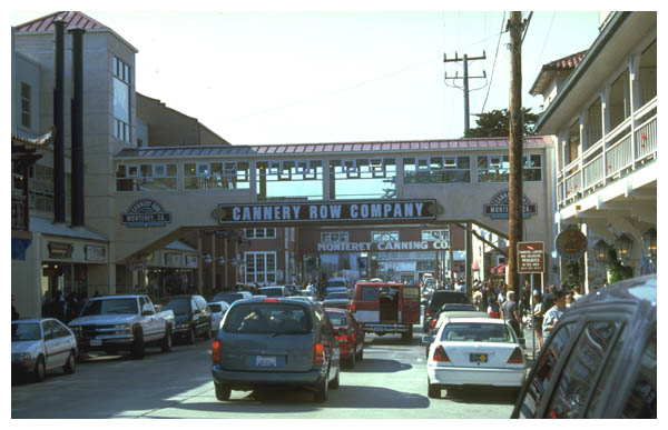 Cannery Row: Cannery Row in Monterey, Ca. served as the background for John Steinbeck's novel of the same name.